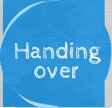 Handingover