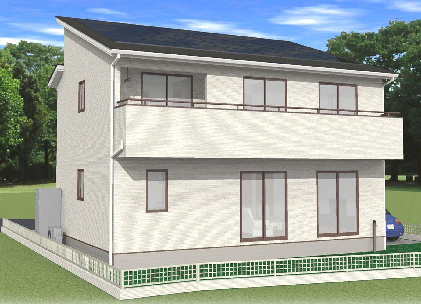 甲斐市下今井E39号棟 建売住宅 外観 イメージ画像