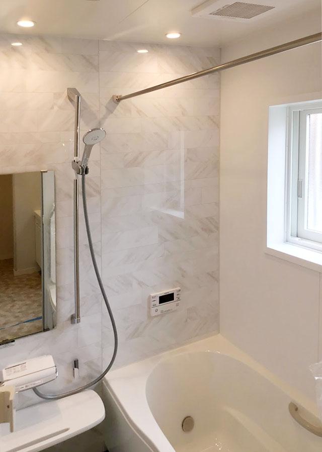 山梨県甲斐市飯野E-9号棟 新築建売住宅 浴室