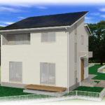南アルプス市飯野E9号棟 建売住宅 外観 イメージ画像