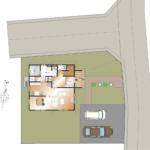 山梨 不動産 南アルプス市小笠原B 5号棟 新築建売住宅 区画図