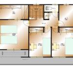山梨県甲斐市下今井E32号棟 新築建売住宅 2F平面図