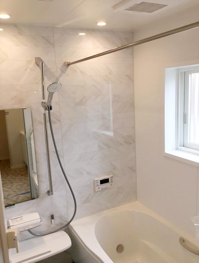 南アルプス市飯野 新築 建売住宅 浴室