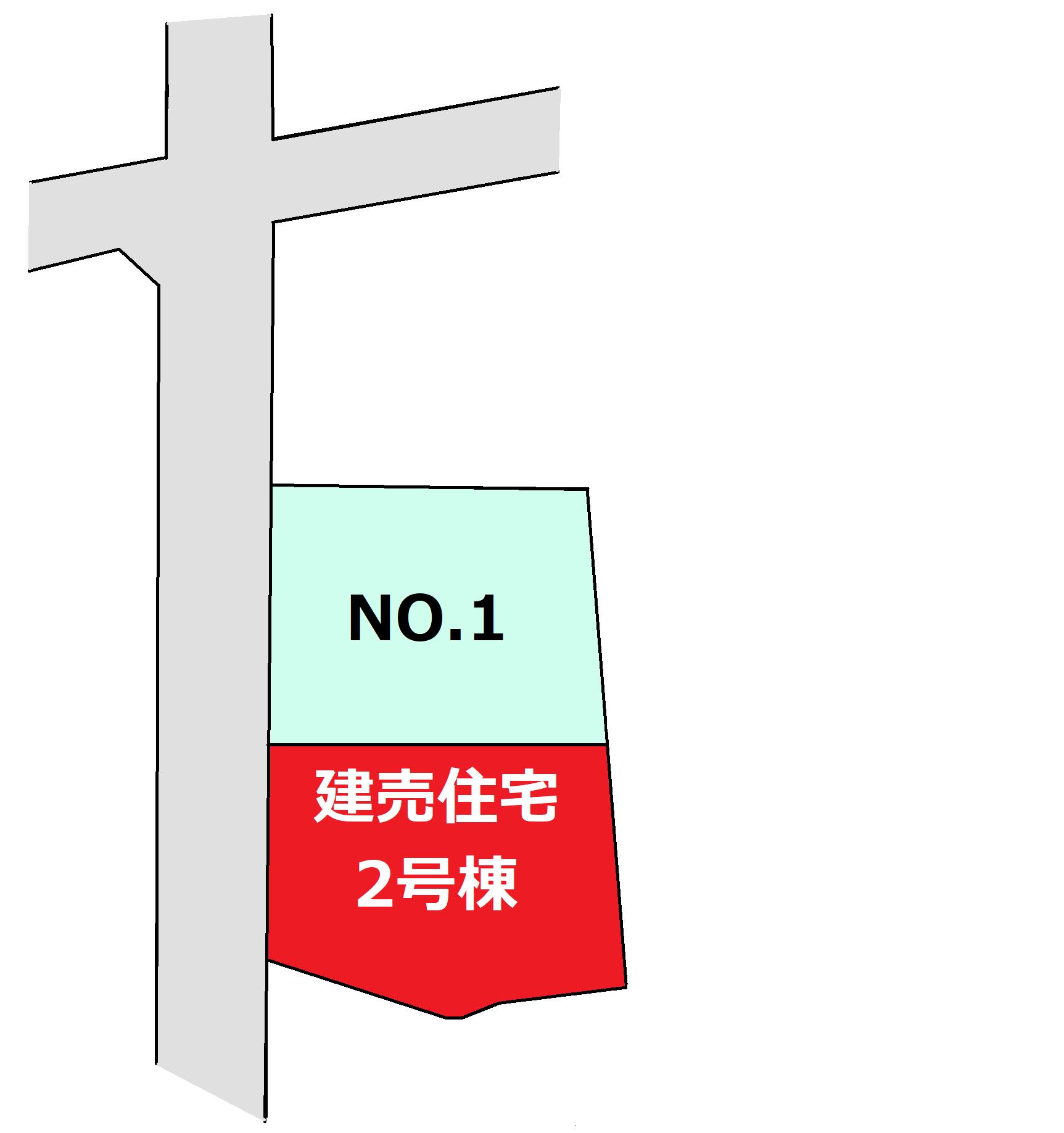 富竹新田 区画図(建売)