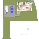 加賀美J-15建売 配置図