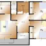 加賀美J-15建売 2F平面図